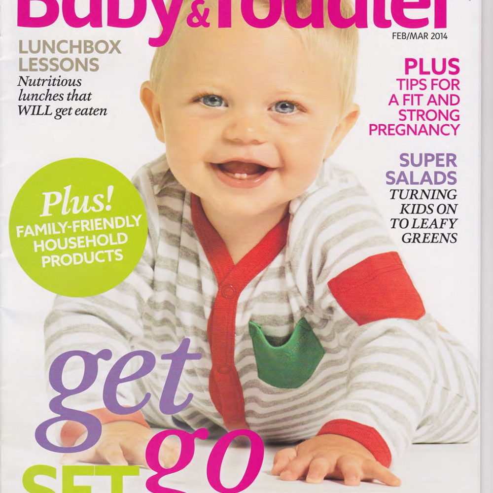 Coles Baby & Toddler Magazine Feature