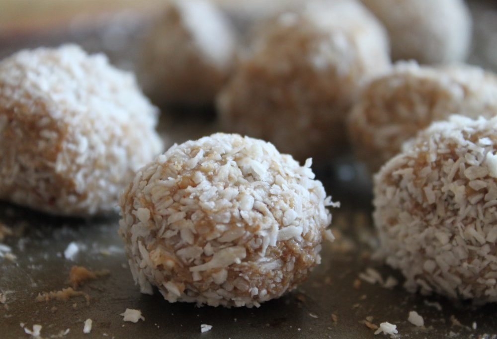 Raw Lemon Balls of JOY