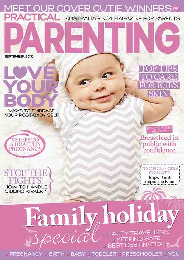 Practical Parenting Magazine Story Feature!