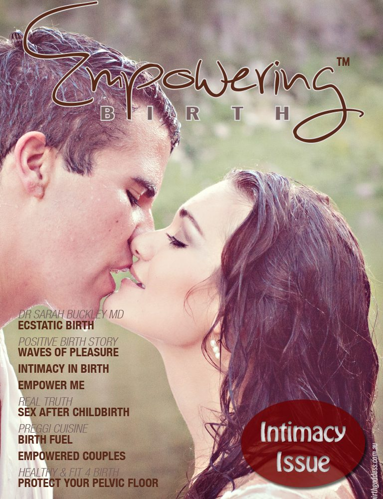 Intimacy Issue of Empowering Birth Magazine