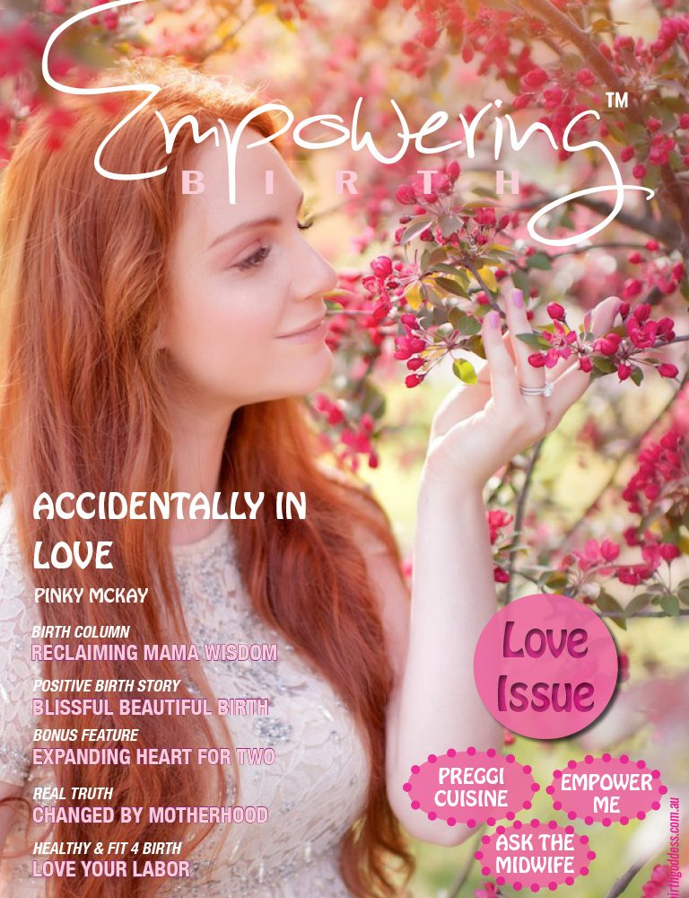 Love Issue of Empowering Birth Magazine
