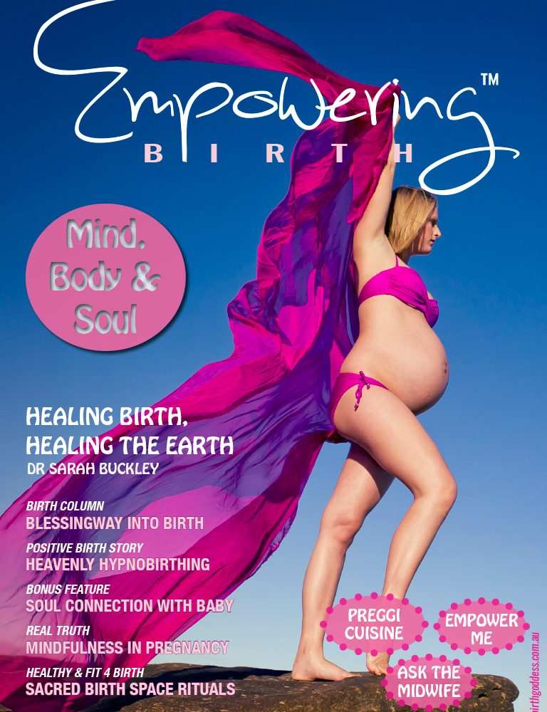 Mind Body Soul Issue of Empowering Birth Magazine
